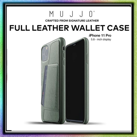 Case iPhone 11ProMax / iPhone 11 Pro / iPhone 11 MUJJO Leather Wallet