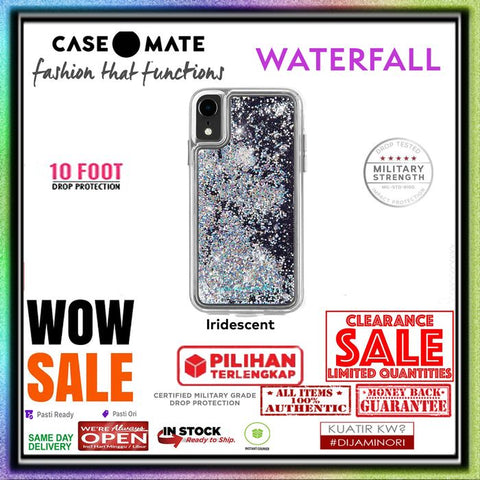 iPhone XR Case CASEMATE WATERFALL Collection