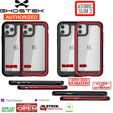 iPhone 11 Pro Max / 11 / 11 Pro Case GHOSTEK Atomic Slim Metal Bumper