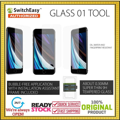 iPhone SE 2020 / 8 / 7 SWITCHEASY GLASS Tools Tempered Glass (0.3 mm)