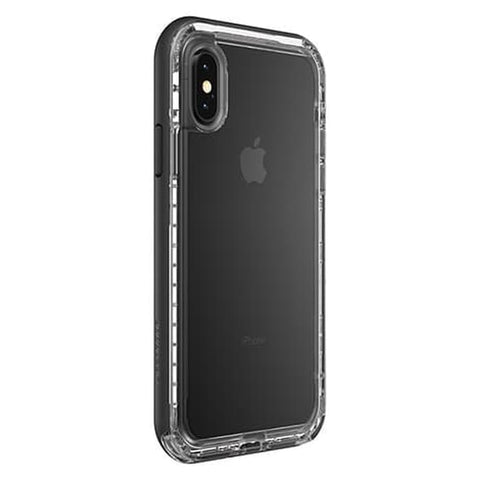 LifeProof iPhone XS MAX Case Next Series Black Crystal (Clear/Black)