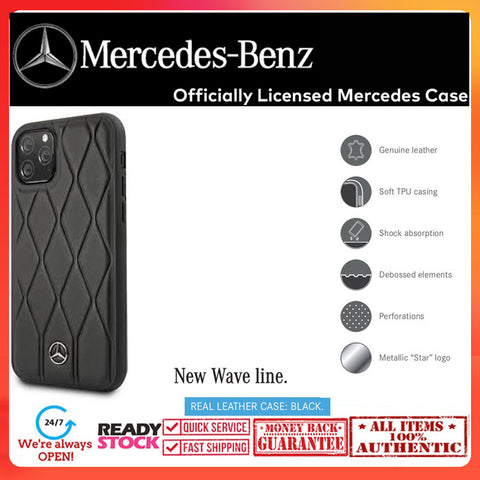 Case iPhone 11 Pro Max / 11 Pro MERCEDES OFFICIAL New Wave
