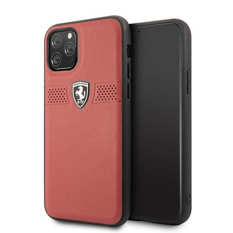 Case iPhone 11 Pro Max / 11 Pro FERARRI LICENSED Off Track Grained