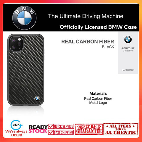 Case iPhone 11 Pro Max / 11 Pro BMW OFFICIAL Carbon Stripe