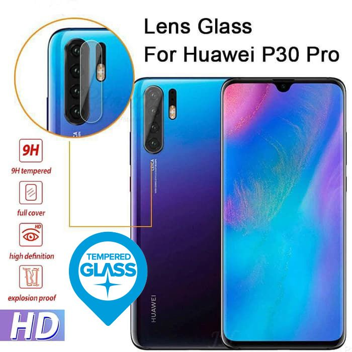 Huawei P30 / P30 Lite Camera Lens Tempered Glass (REAL TEMPERED)