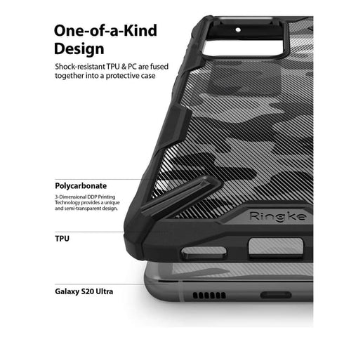 Case Samsung Galaxy S20 Ultra / S20 Plus / S20 RINGKE FUSION X