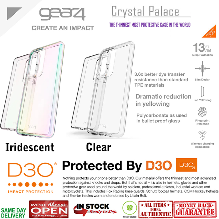 Case Samsung Galaxy S20 Ultra / S20 Plus / S20 GEAR4 CRYSTAL PALACE