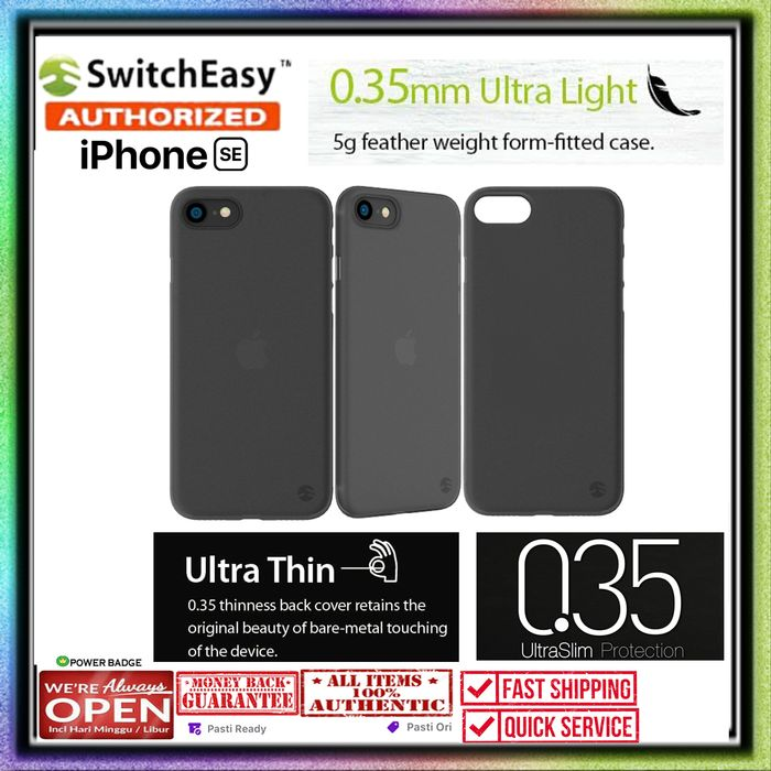 iPhone SE 2020 / 8 / 7 Case SWITCHEASY Ultra Thin 0.35mm