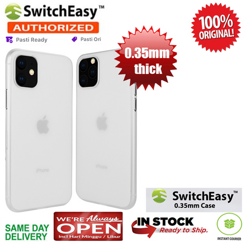 iPhone 11 / 11 Pro / 11 Pro Max Case Switcheasy Ultra Thin 0.35 mm