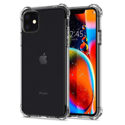 Spigen iPhone 11 Pro Max / iPhone 11 Pro / iPhone 11 Rugged Case Clear