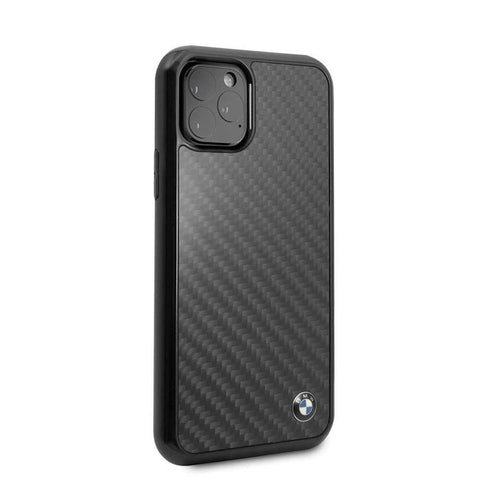 Case iPhone 11 Pro Max / 11 Pro BMW OFFICIAL Logo Real Carbon FIber