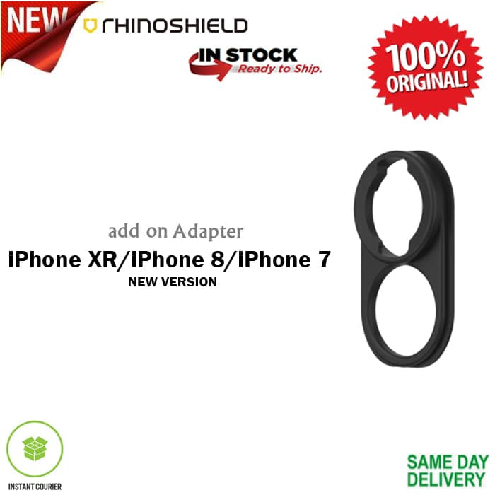 RhinoShield Lens Adapter for iPhone XR/ 8/ 7 (New Version)
