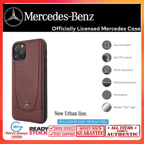 Case iPhone 11 Pro Max / 11 Pro MERCEDES OFFICIAL New Urban Line