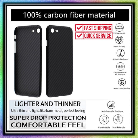 Case iPhone SE 2020 / iPhone 7 / 8 REAL ARAMID CARBON Ultra Thin