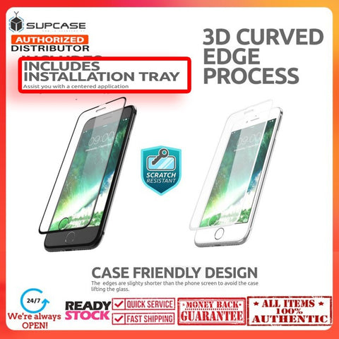 iPhone 8 Plus / iPhone 7 Plus SUPCASE Premium Tempered Glass 3D