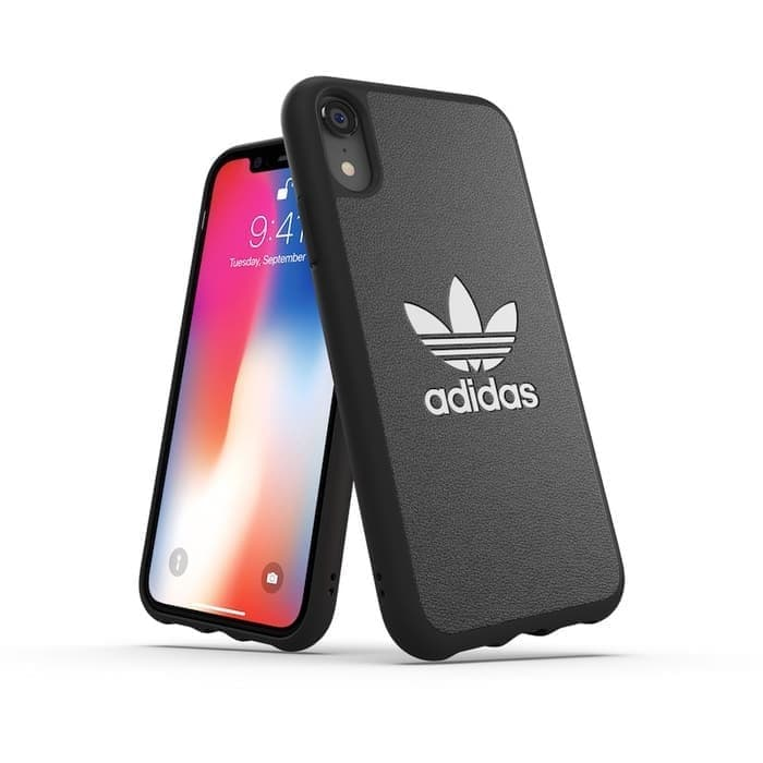 Adidas iPhone Xr Basic Logo PU Case
