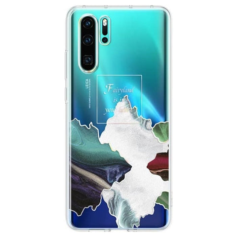 Huawei P30 Pro Case Cover Original Official SIlicone Clear Case