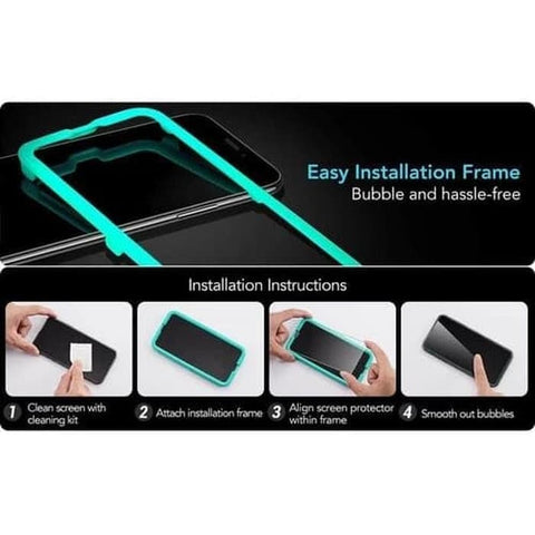 Tempered Glass iPhone 11 Pro Max / 11 Pro / 11 ESR Full (FreeTray)