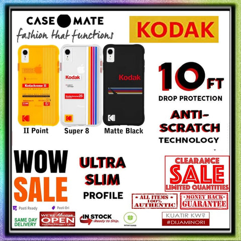 iPhone XR Case CASEMATE KODAK