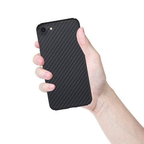 Case iPhone SE 2020 / 8 / 7 REAL ARAMID CARBON Ultra Thin