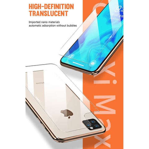 Iphone 11 Pro Max / iPhone 11 Pro / iPhone 11 Back Tempered Glass