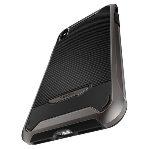 Spigen iPhone XS Max Case Hybrid NX Gunmetal (ORIGINAL)