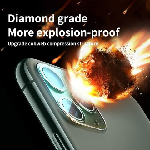 iPhone 11 Pro Max / 11 Pro / 11 LENS Camera Tempered PROTECTION CLEAR
