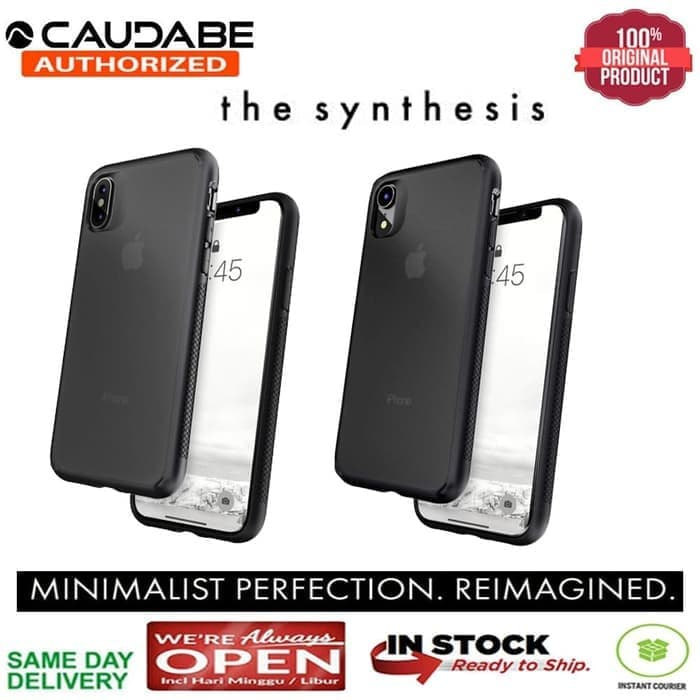 iPhone XS / XS MAX / XR Case Original Caudabe Minimalist The SYNTHESIS