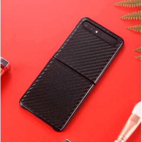 Samsung Galaxy Z FLIP Case Hardcase Carbon (Real Aramid)