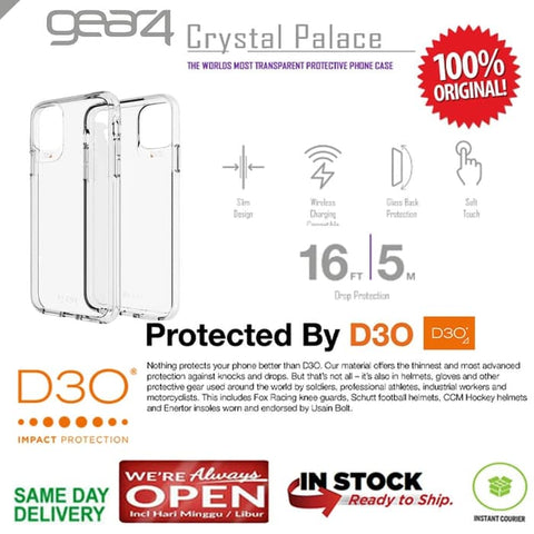 iPhone 11 / 11 Pro / 11 Pro Max Case GEAR4 CRYSTAL PALACE