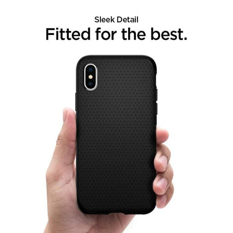 Spigen iPhone XS Max Case Liquid Air Matte Black (Ver.2) (ORIGINAL)