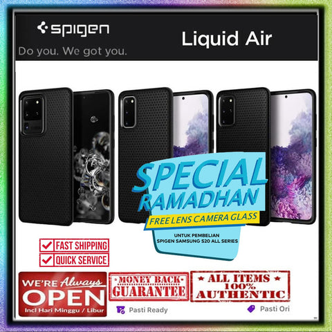 Samsung Galaxy S20 Ultra / S20 Plus / S20 Case SPIGEN LIQUID AIR