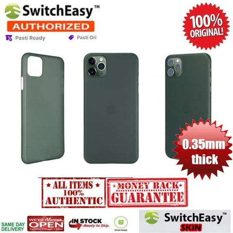 SwitchEasy 0.35mm Thin Case iPhone 11 Pro Max / 11 Pro / 11 Original