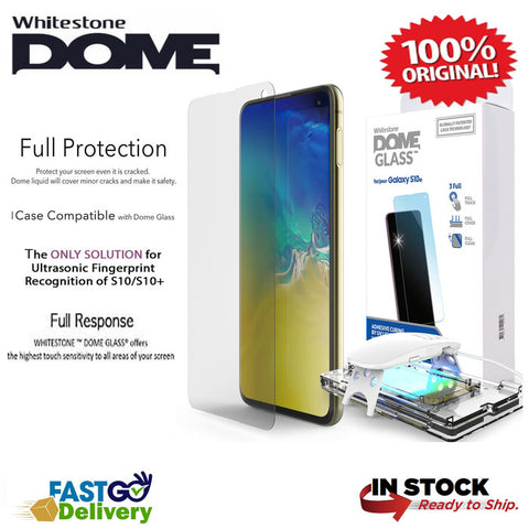 Whitestone DOME Full Adhesive Tempered Glass Galaxy S10e / S10 E