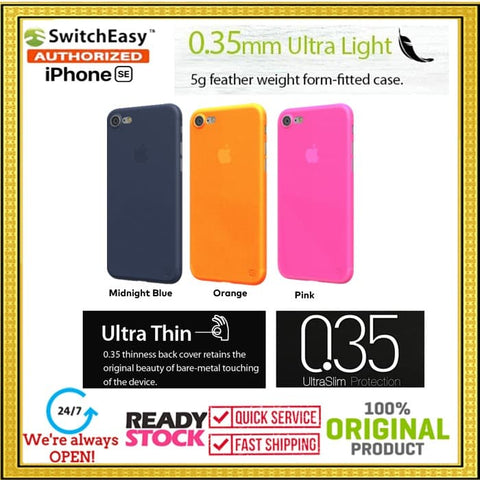 iPhone SE 2020 / 8 / 7 Case SWITCHEASY Ultra Thin 0.35mm (COLORS)