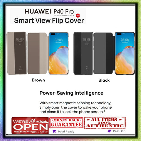 Huawei P40 Pro OFFICIAL Case Smart View Flip Cover