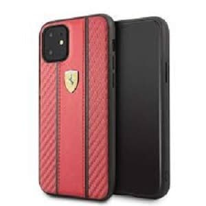 Case iPhone 11 Pro Max / 11 Pro FERARRI LICENSED Off Track Carbon PU