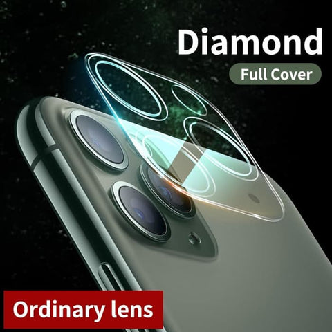 iPhone 11 Pro Max / 11 Pro / 11 LENS Tempered FULL PROTECTION CLEAR