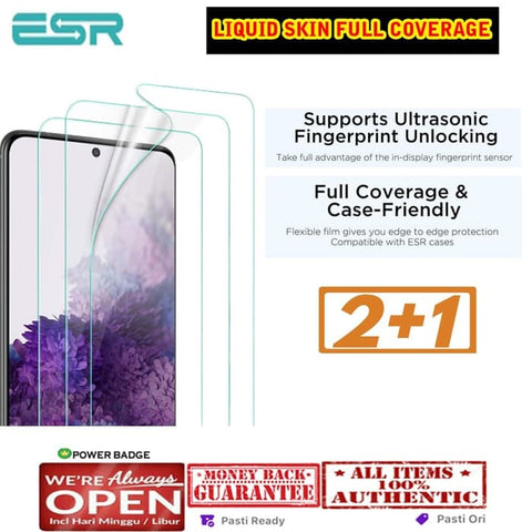 Samsung Galaxy S20 Ultra / S20 Plus / S20 Case ESR LIQUIDSKIN FULL
