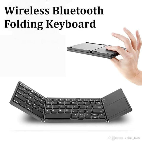 Wireless Keyboad Universal FOLDABLE (New Version For Comfortable)
