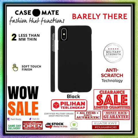 iPhone XR Case CASEMATE BARELY THERE Collection