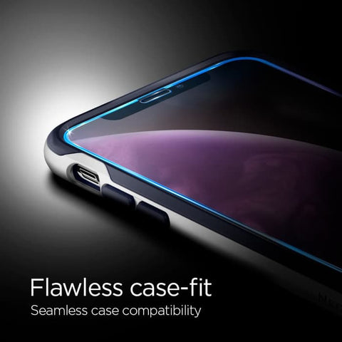 Tempered Glass SPIGEN iPhone XR Full Cover Glas.tr