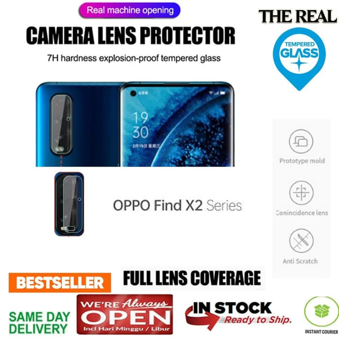 OPPO FIND X2 LENS CAMERA Protection GLASS (REALGLAS)