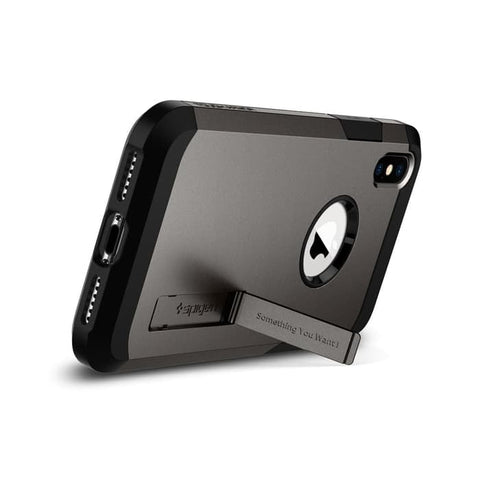 Spigen iPhone XS Max Case Tough Armor Gunmetal (Ver.2) (ORIGINAL)