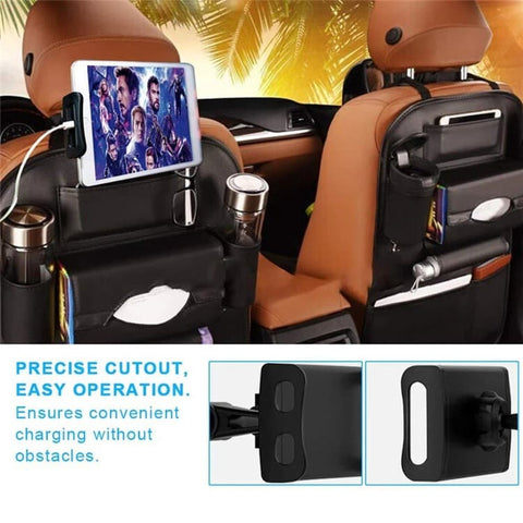 Car Headrest Holder Stand 360 Degree Rotation Up to 4 -11 inch (iPad)
