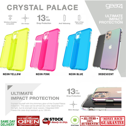 iPhone 11 Pro Max / 11 Pro / 11 Case GEAR4 CRYSTAL PALACE