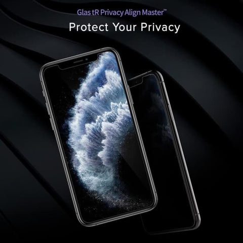 iPhone XS MAX / XS / XR Tempered Spigen AlignMaster Privacy