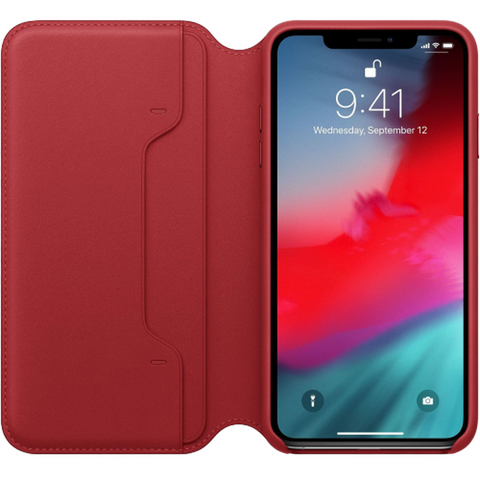 iPhone XS MAX Case ORIGINAL LEATHER FOLIO ( Apple Genuine) YEAROF SALE