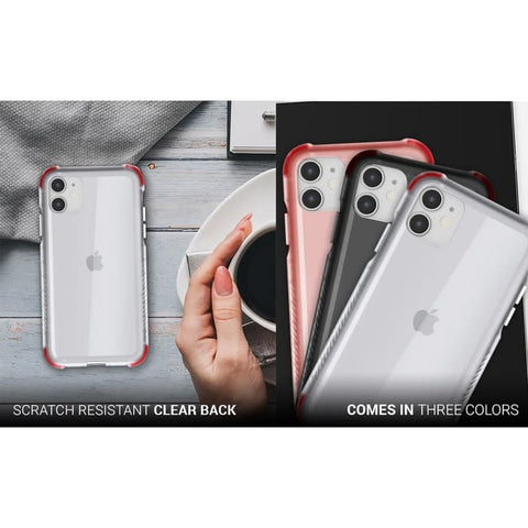 iPhone 11 Pro Max / 11 / 11 Pro Case GHOSTEK COVERT Clear Silicone