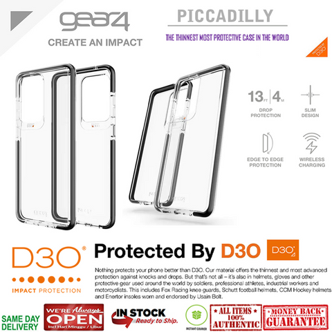 Case Samsung Galaxy S20 Ultra / S20 Plus / S20 GEAR4 PICCADILY